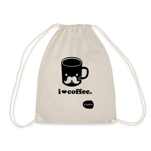 i love coffee - Turnbeutel