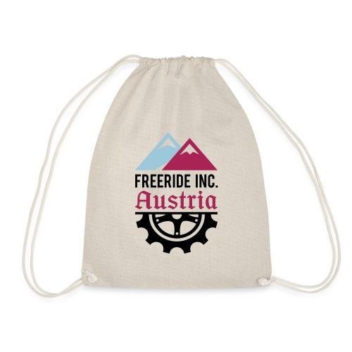 Freeride Inc. Austria Logo 2020 - Turnbeutel