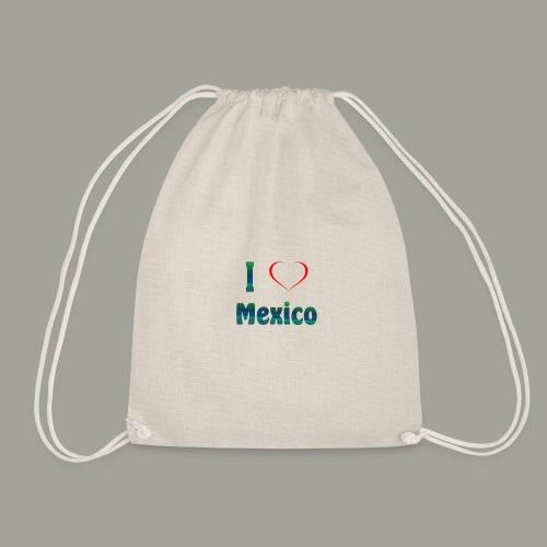 I Love Mexiko - Turnbeutel