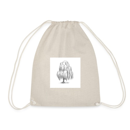 Willow Sketch - Drawstring Bag