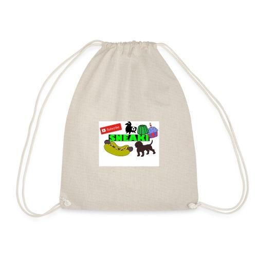 Sneaki Doodle Hoodie - Drawstring Bag