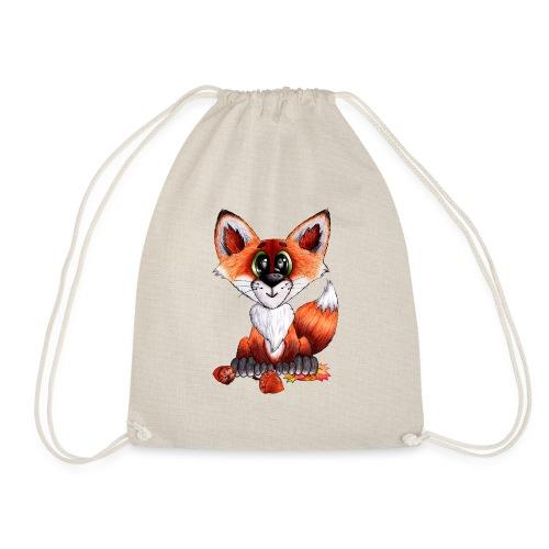 llwynogyn - a little red fox - Sportstaske
