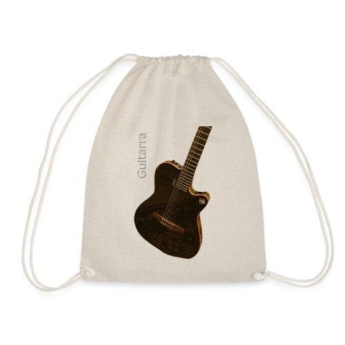 Guitarra inclinada - Mochila saco