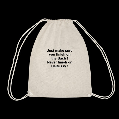 Bach DeBussy - Drawstring Bag