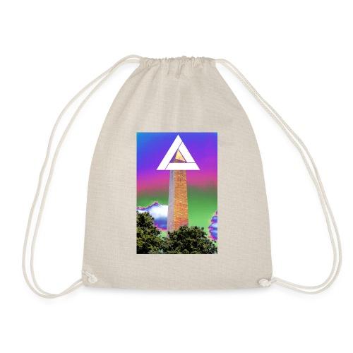 SIXTH DIEMENSION MONUMENT - Drawstring Bag