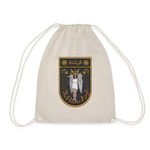 Persian Angel Anahita - Farsi Angel - Drawstring Bag