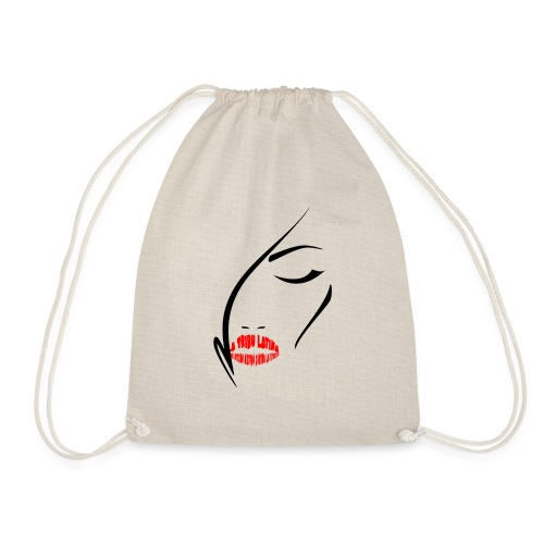 LTL woman lips - Sacca sportiva