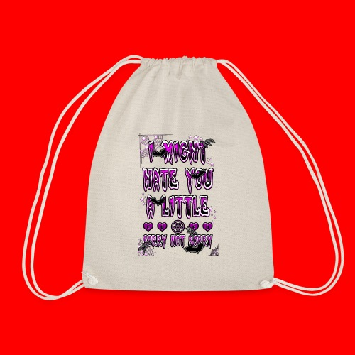 HATER - Drawstring Bag