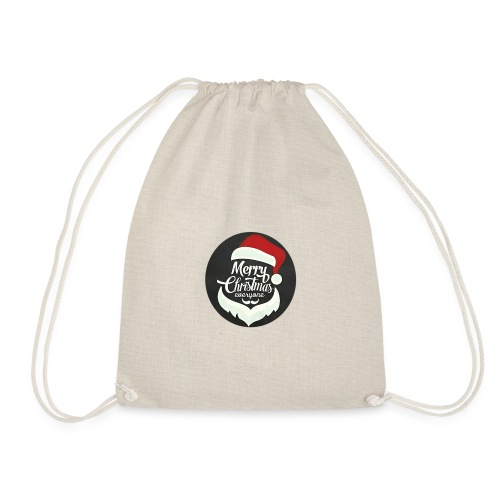 Merry Christmas - Drawstring Bag