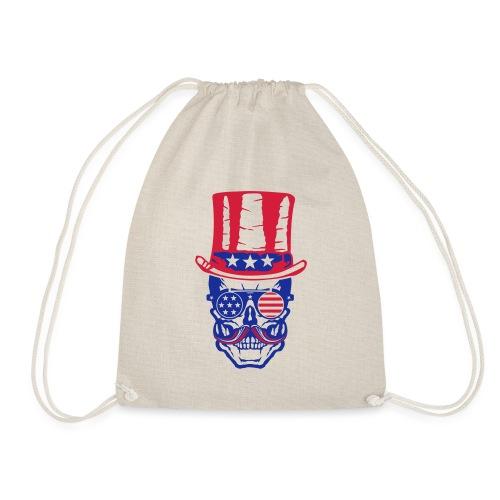 tete de mort hipster crane skull americaine chapea - Sac de sport léger