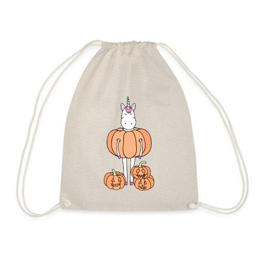 Unicorn & pumpkins - Sacca sportiva
