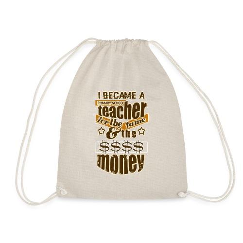 Primary school teacher t-shirt, teacher t shirt - Mochila saco