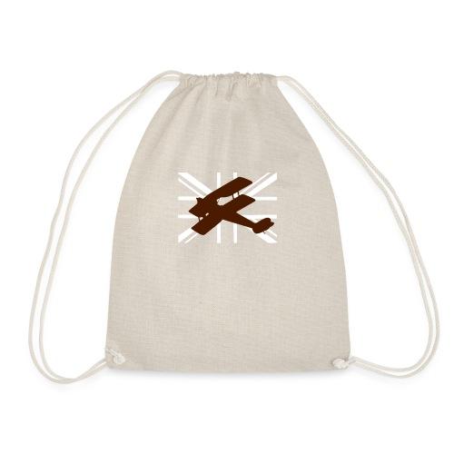 ukflagsmlWhite - Drawstring Bag
