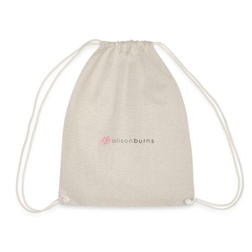 Alison Burns Signature Range - Drawstring Bag