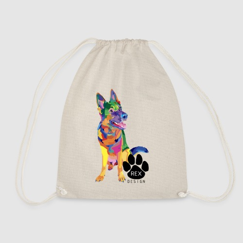 Here For You - Drawstring Bag