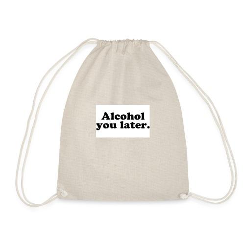 Alcool - Sac de sport léger