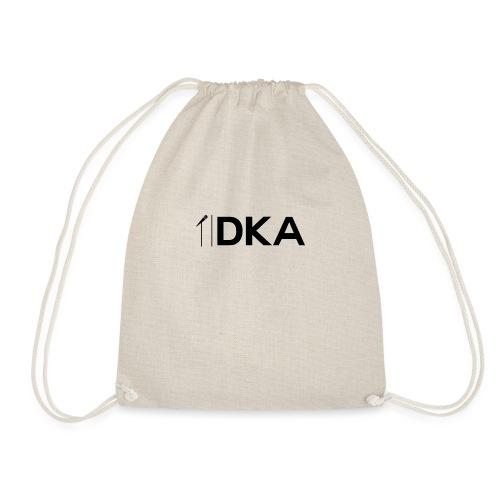 DKA - Oficjalna odzież z logiem DKA (czarne) - Worek gimnastyczny