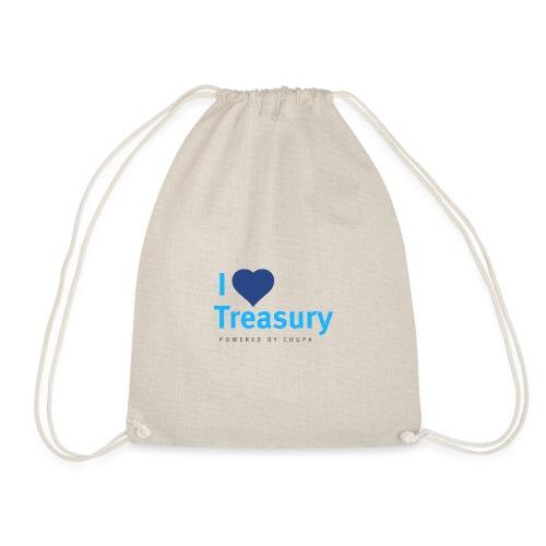 I Love Treasury - Drawstring Bag