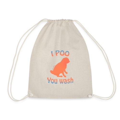 I poo you wash summer - Sac de sport léger