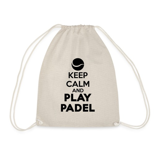 Keep Calm and Play Padel - Mochila saco