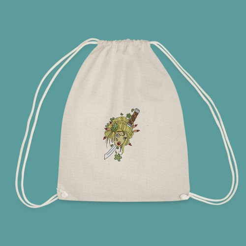 Samurai-No-More - Drawstring Bag