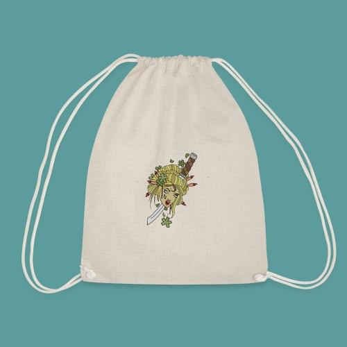 Samurai-No-More - Drawstring Bag