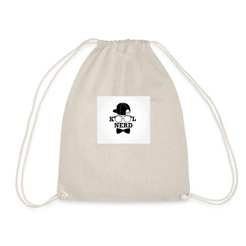 kool nerd - Drawstring Bag