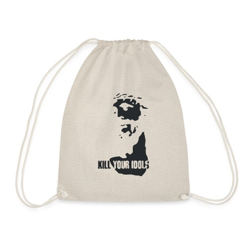 Kill your idols - Drawstring Bag