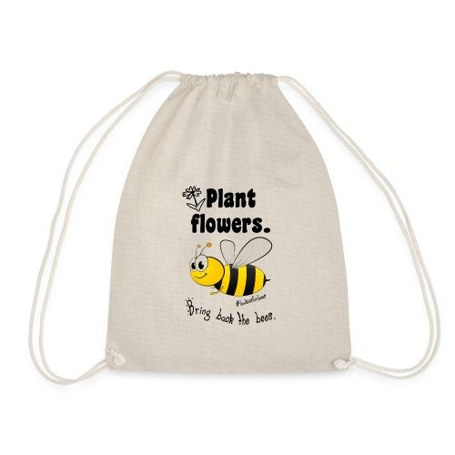 Bees8-1 Bringt die Bienen zurück! | Bookrebels - Drawstring Bag
