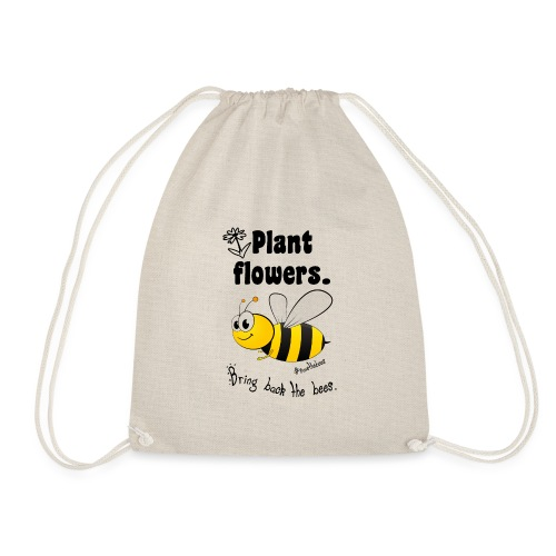 Bees8-2 Bringt die Bienen zurück! | Bookrebels - Drawstring Bag