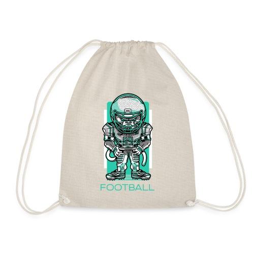 funky football - Turnbeutel