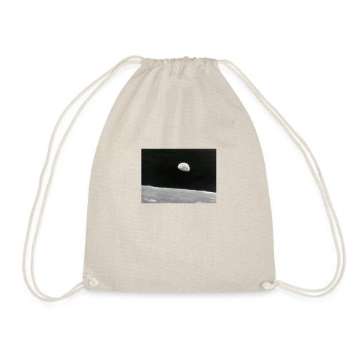 Earth from the moon - Drawstring Bag