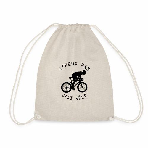 J'peux pas j'ai Vélo - Sac de sport léger