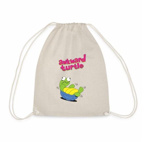 Akward Turtle (FFF) - Drawstring Bag