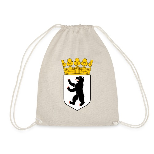 Berlin Wappen Klamotten - Turnbeutel
