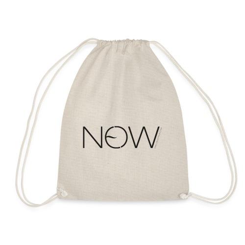 NewNow Logo - schwarz - Turnbeutel