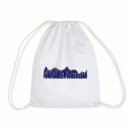 dahoamiswodbergsan - Drawstring Bag