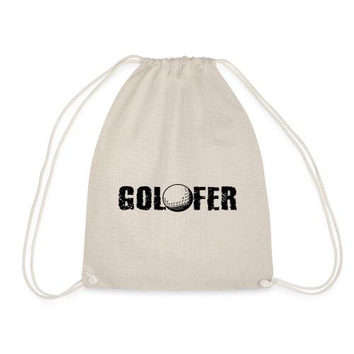 Golfer - Turnbeutel