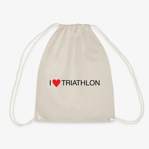 I LOVE TRIATHLON - Turnbeutel
