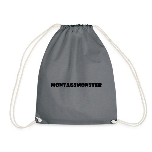 Montagsmonster - Turnbeutel