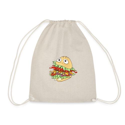 hungry burger // art.implied - Turnbeutel
