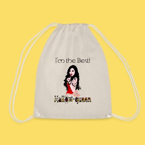 ✦°• (㇏(•̀ᵥᵥ•́)ノ)Hot Hallow-Queen Vampiress - Drawstring Bag