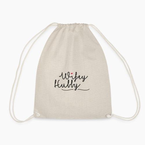 Wifey & Hubby - Drawstring Bag