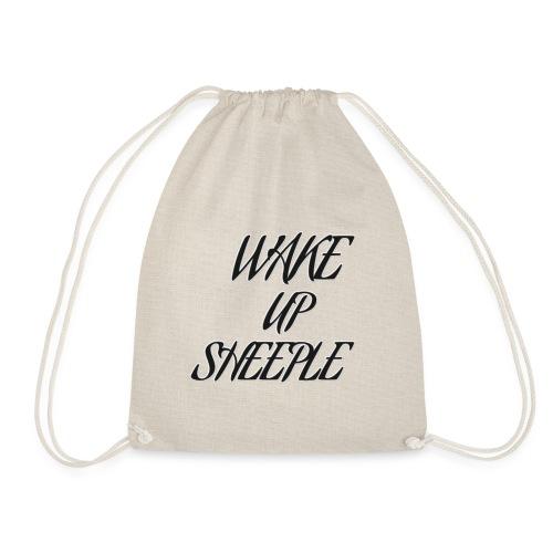 WAKE UP SHEEPLE - Turnbeutel