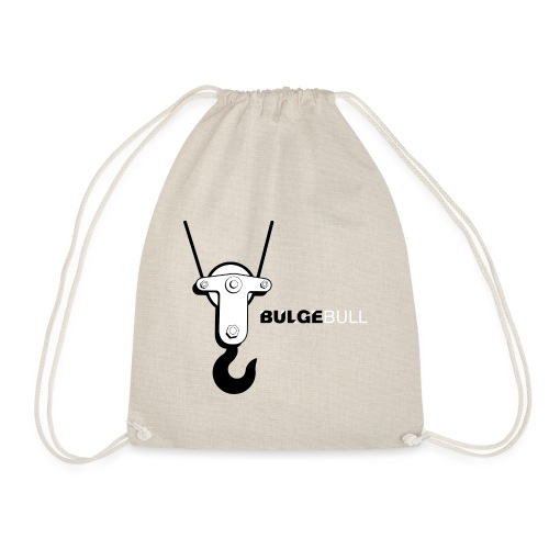 bulgebull crane - Drawstring Bag