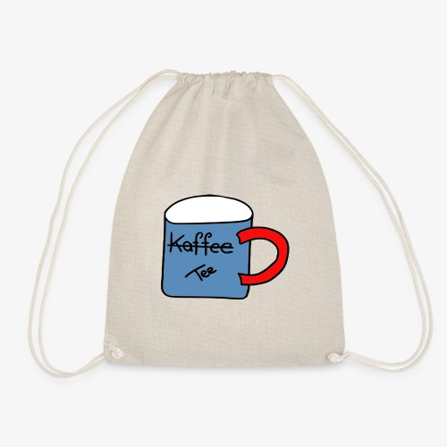 Kein Kaffee, sondern Tee - Turnbeutel
