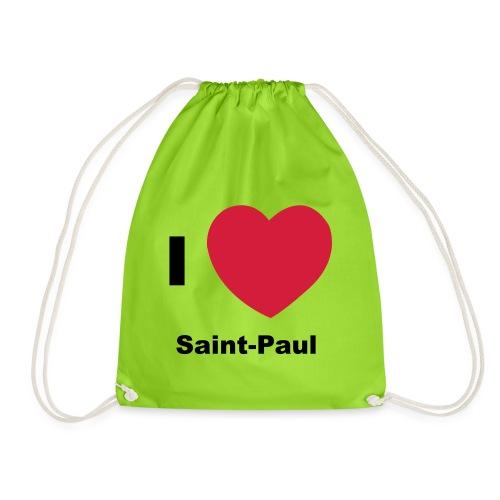 i love sainte paul - Sac de sport léger