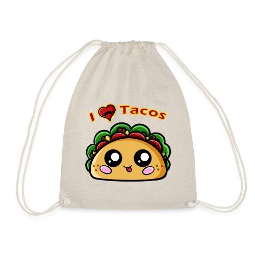 I Love Tacos - Sac de sport léger