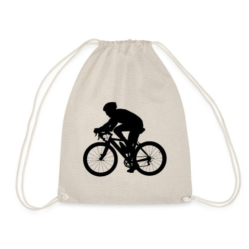 Recycle Yourself Cyclist - Drawstring Bag