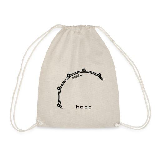 Hoop Design Black - Sac de sport léger